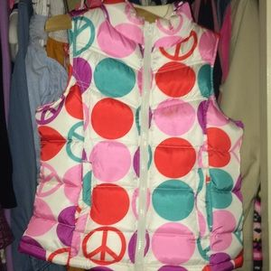 Cute girl vest